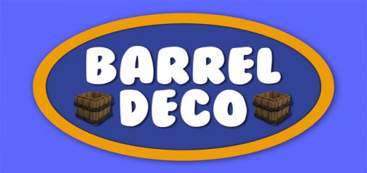 Мод Barrel Deco 1.16 (Новые конструкции стволов)]