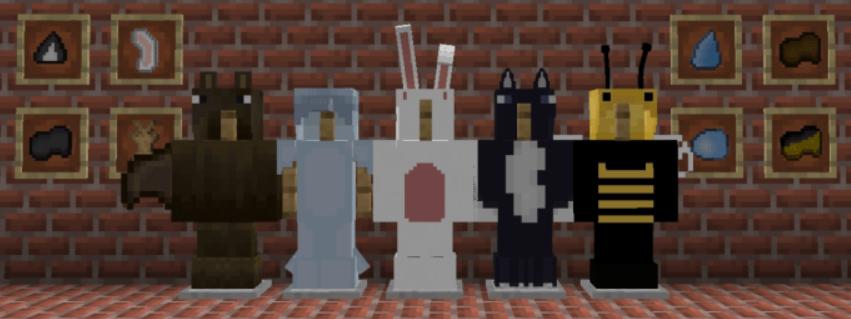 Мод Expandble Costumes 1.16 (Больше костюмов)]