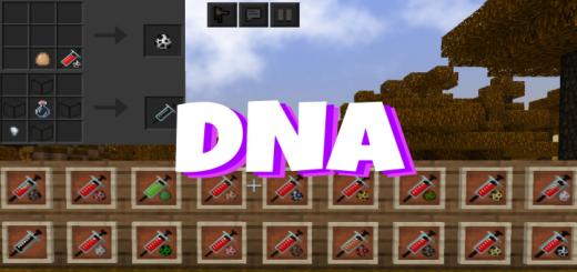 Мод DNA – Science in Minecraft 1.16 (Футуристическая идея)]